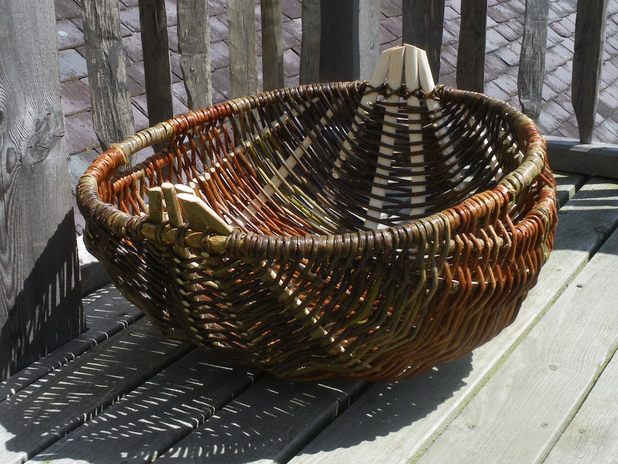 The Welsh Cyntell, basket by Ruth Pybus