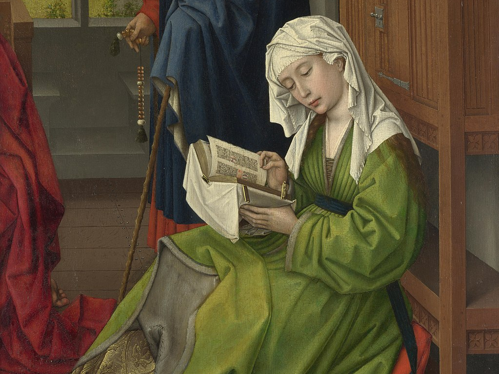 The Magdalen Reading, by Rogier van der Weyden (1438)