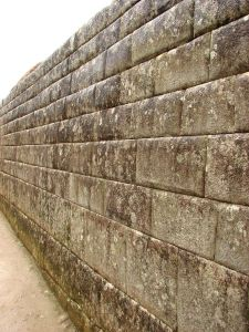 Ashlar wall at Machu Picchu