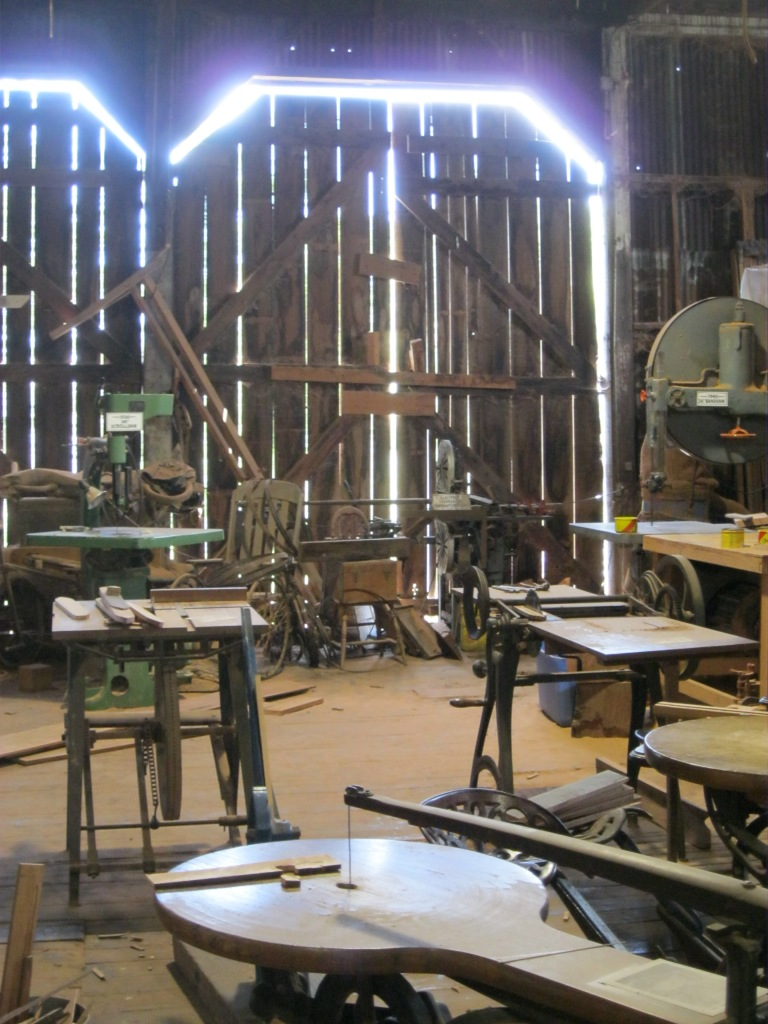 Blue Ox Millworks Workshop and Museum