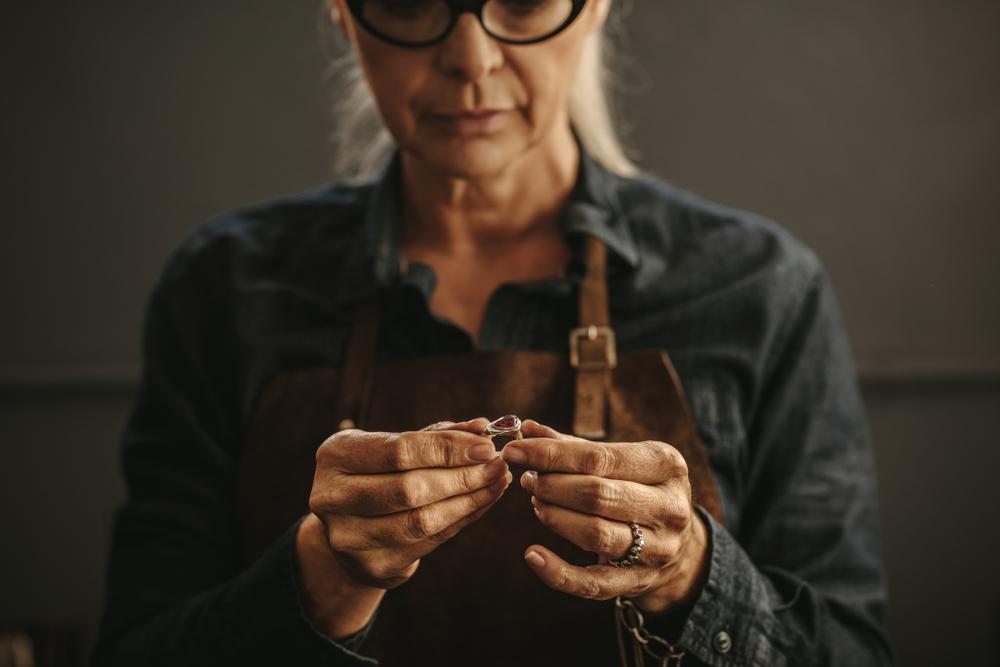 Artisan jeweler.